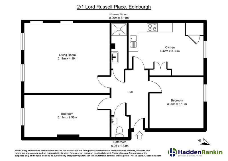 Property for rent at 2/1 Lord Russell Place