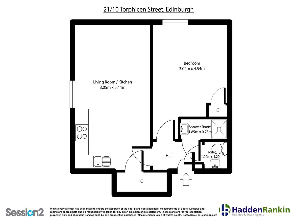 Property for rent at 21/10 Torphichen Place