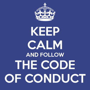 keep-calm-and-follow-the-code-of-conduct