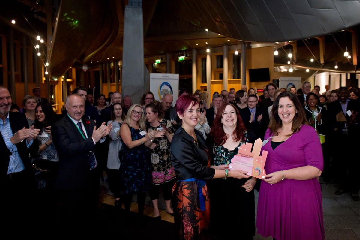 susan-aktemel-homes-for-good-social-enterprise-awards-scotland-2016