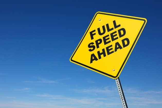 Full-speed-ahead-sign
