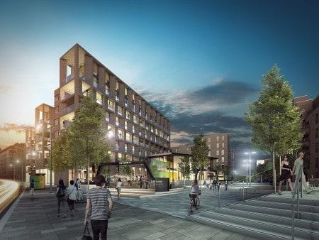 Edinburgh-Fountainbridge-build-to-rent