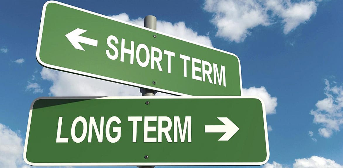 short-term-long-term-road-sign