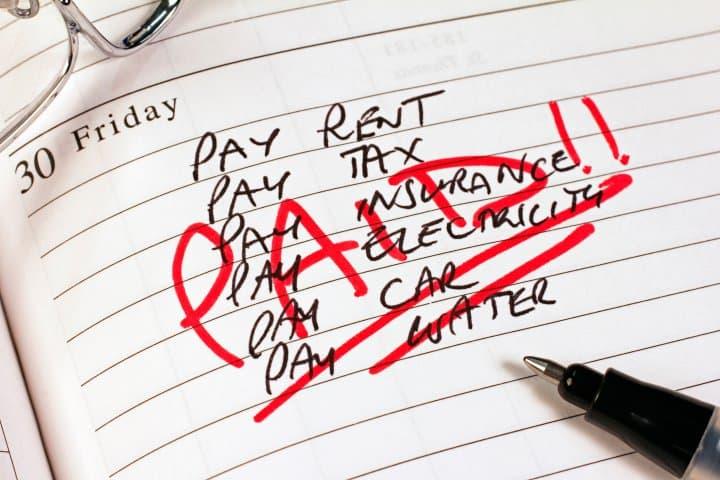 pay-bills-diary