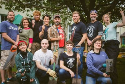 Noisy Please! Tenants Flock to Scotland's First Tool Library