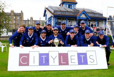 Citylets Sponsor Cricket's Scottish Cup and Scottish School's Cup
