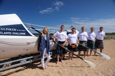 Citylets Sponsors 2021 Talisker Whisky Atlantic Challenge Crew